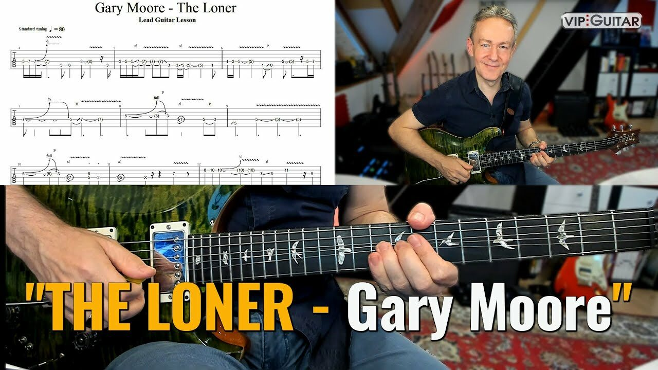 """Songtutorial """"The Loner - Gary Moore"""
