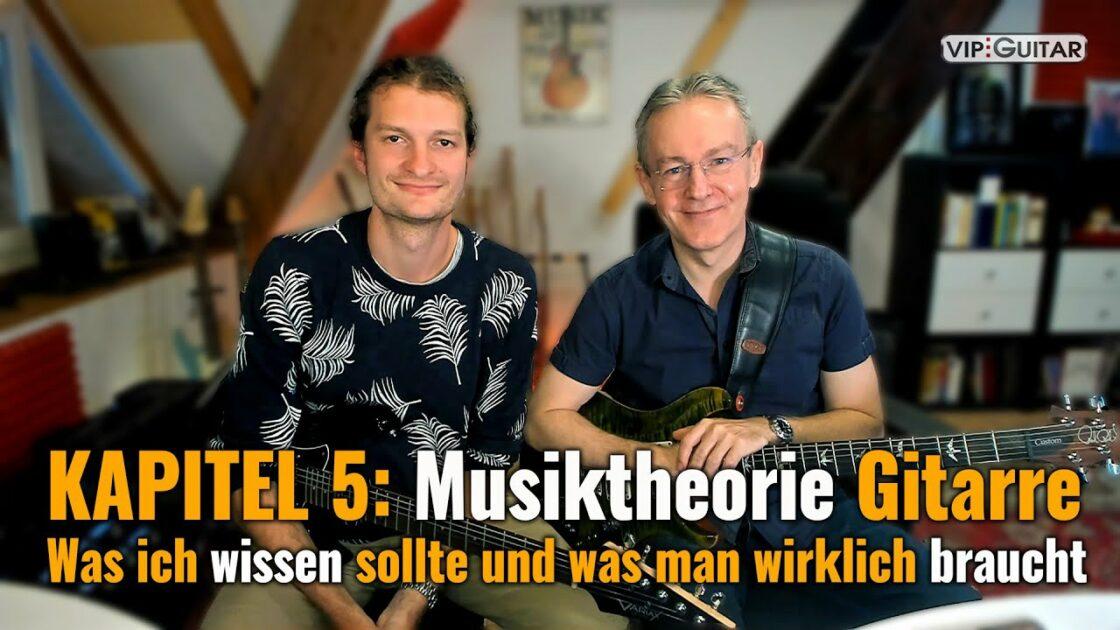 Gitarre lernen Kapitel 5: Musiktheorie
