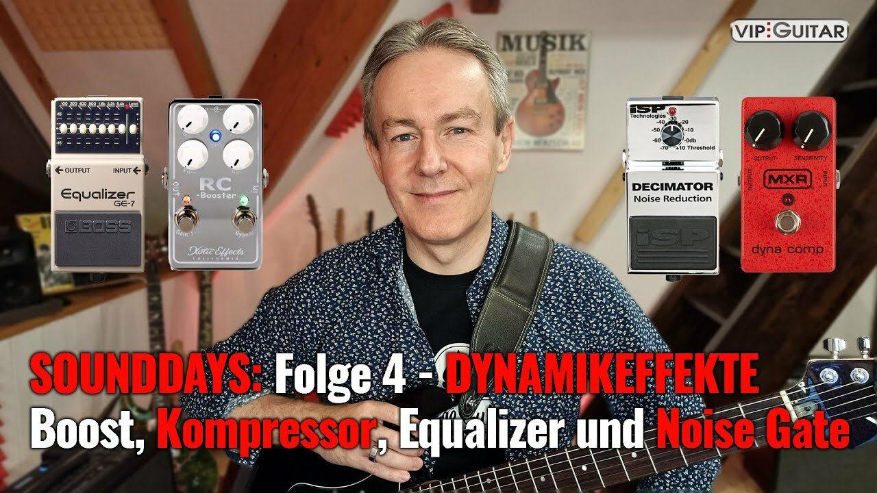 Sounddays Folge 4 - Dynamikeffekte