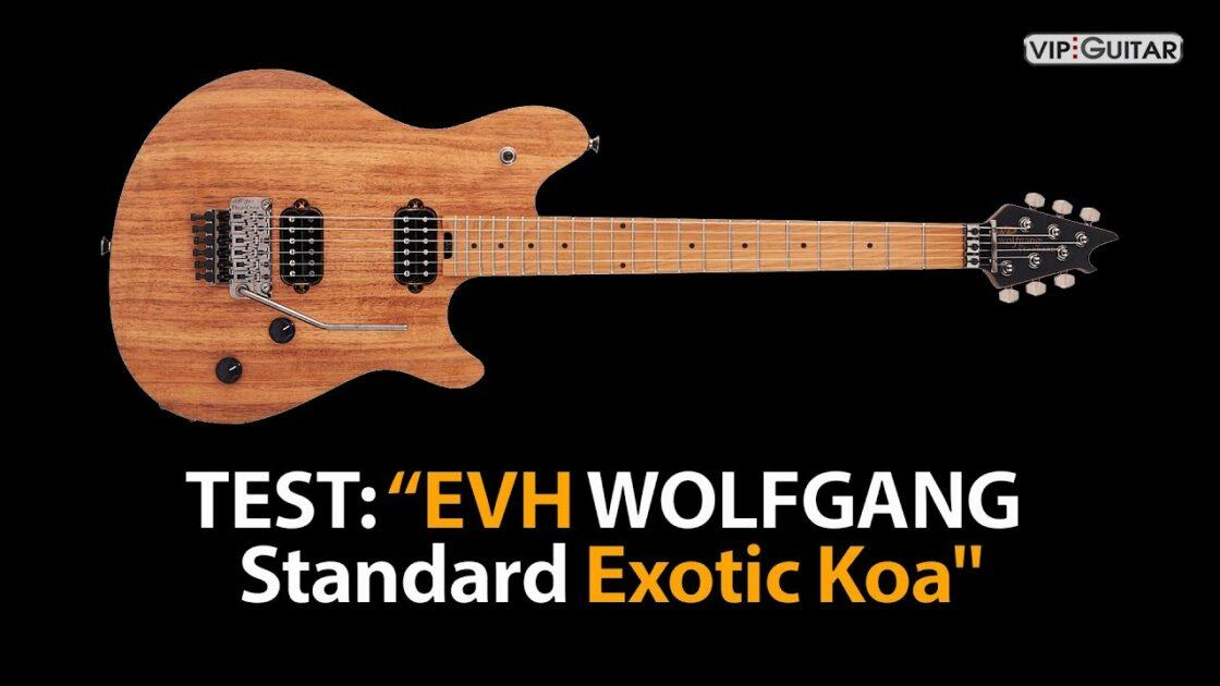 Produkttest EVH Wolfgang Standard Exotic Koa